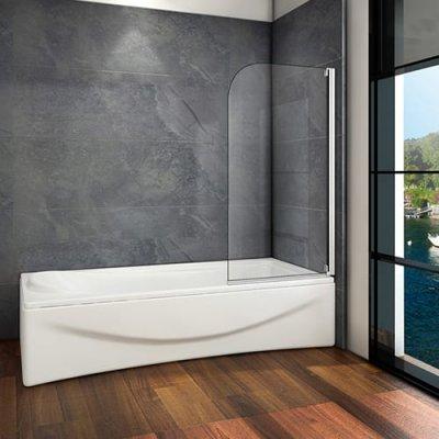 80x140cm Badewanne Drehen Duschwand Duschabtrennung [Z1-B80M ... | {Duschkabine badewanne 54}