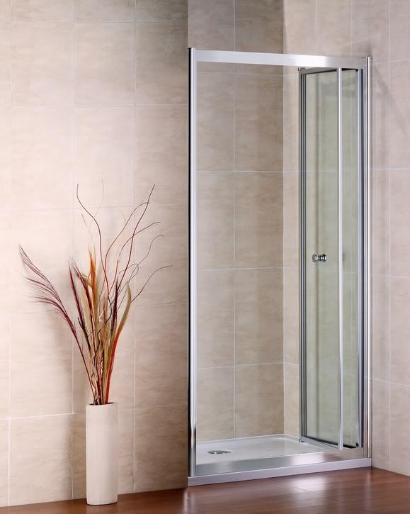 80x185cm duschabtrennung klapptür nischentür [ns2-80] - ?159,99 ... - Dusche Klapptur