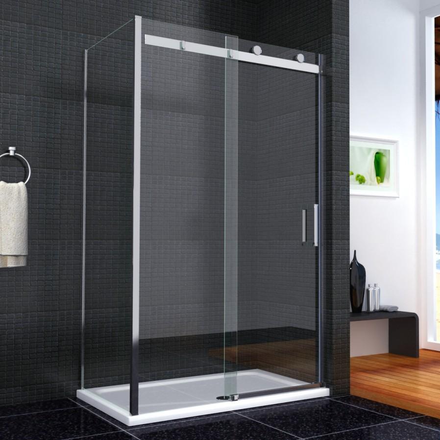 duschabtrennung glas schiebet r. Black Bedroom Furniture Sets. Home Design Ideas