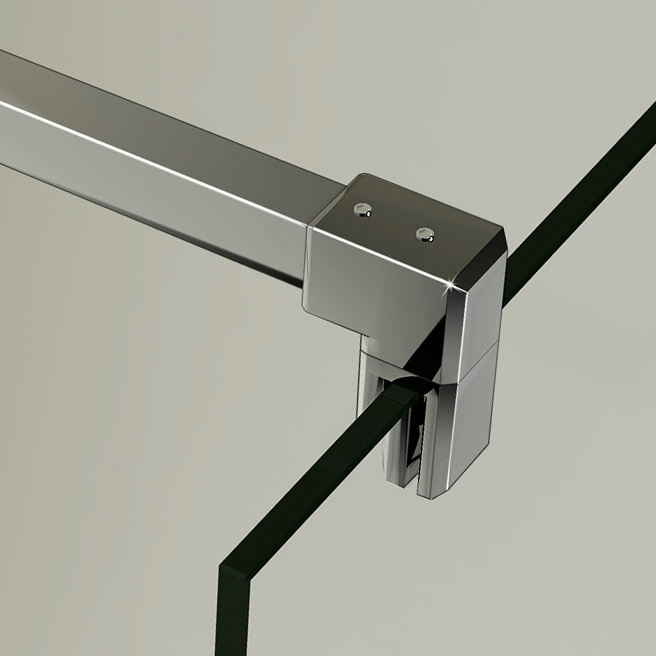 Walk in duschabtrennung duschwand 8mm nano glas 120x200cm w12e 20a f 131 - Gedimat porte coulissante ...
