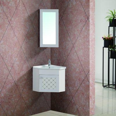 Badmöbel Badschrank Waschbeckenunterschrank + Spiegelschrank ...