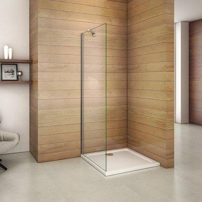 Beliebt Neu Walk in 8mm Duschabtrennung Duschwand Echtglas Dusche WV03