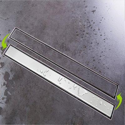 edelstahl duschrinne ablaufrinne bodenablauf dusche duschablaufrinne flach 70cm yz a02s 70. Black Bedroom Furniture Sets. Home Design Ideas