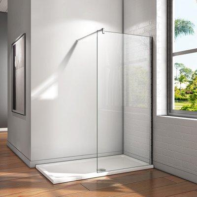 walk in duschabtrennung duschwand 8mm nano glas 80x200cm w80e 20a f 132 115 89 aica. Black Bedroom Furniture Sets. Home Design Ideas