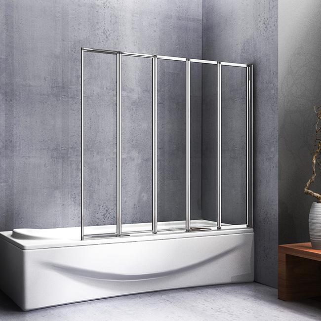 120cm X140cm Hohe Badewanne 5 Ftg Falttur Duschwand Duschabtrennung Badewanne Duschwande Duschkabine Fur Badewanne Ff12 5 94 04 Aica Sanitar Gmbh Duschkabine Duschabtrennung