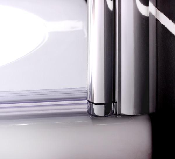 80x140cm pare baignoire pivotant 180 anticalcaire 6mm. Black Bedroom Furniture Sets. Home Design Ideas