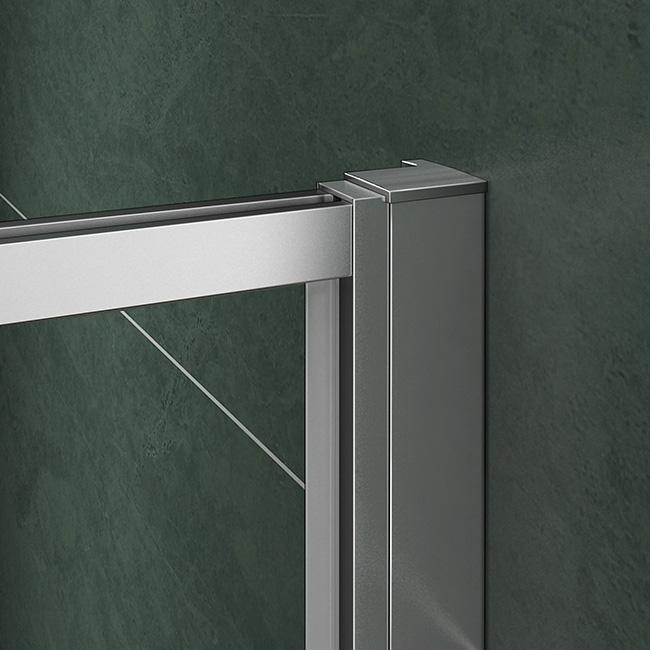 76x76x185cm duschkabine dreht r duschabtrennung dusche duschwand ohne duschtasse pr76g spr76g. Black Bedroom Furniture Sets. Home Design Ideas