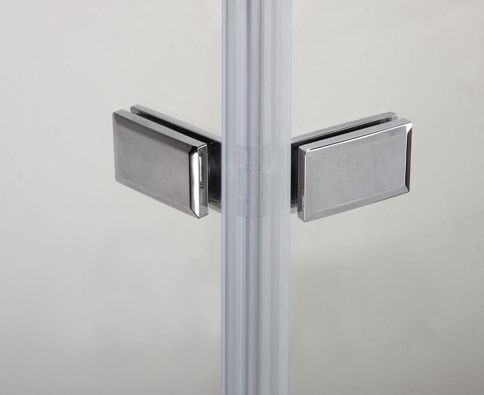 100x140cm pare baignoire 2 volets rabattables 5mm verre. Black Bedroom Furniture Sets. Home Design Ideas